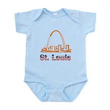 Gateway Arch Infant Bodysuit