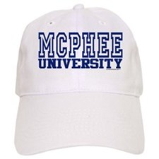 MCPHEE University Baseball Cap