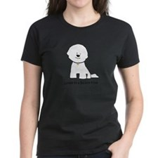 Loved By A Bichon Women's Colored T-Shirt