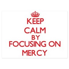 Keep Calm by focusing on Mercy Invitations