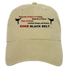 ONE Black Belt 1 Baseball Cap