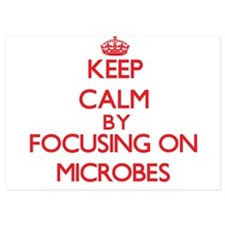 Keep Calm by focusing on Microbes Invitations