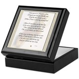 Lick My Tears Away Keepsake Box