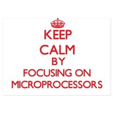 Keep Calm by focusing on Microprocesso Invitations