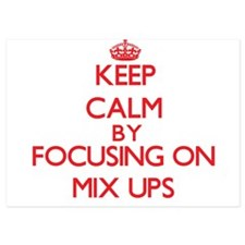 Keep Calm by focusing on Mix Ups Invitations
