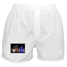 Jax at night (with flag) Boxer Shorts