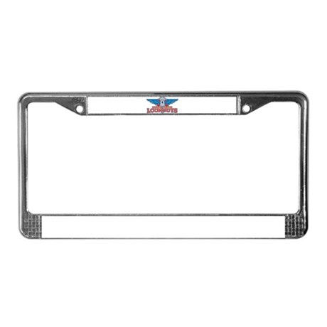 North Castle Lookouts License Plate Frame