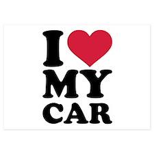 I love my car Invitations