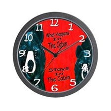 What Happens In The Cabin Wall Clock