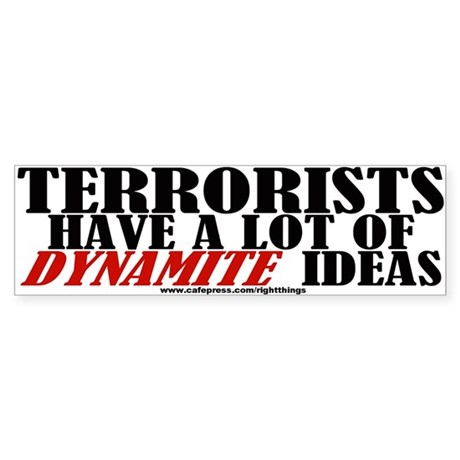 Dynamite Ideas Bumper Sticker