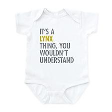 Its A Lynx Thing Infant Bodysuit