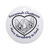 Savannah Chatters Round Ornament