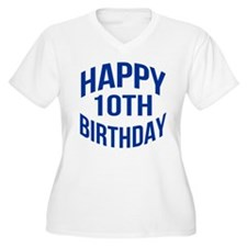 Happy 10th Birthd T-Shirt