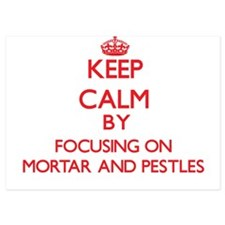 Keep Calm by focusing on Mortar And Pe Invitations