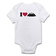 I love mountains Infant Bodysuit