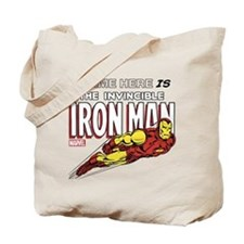 Personalized Invincible Iron Man Tote Bag