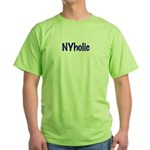 NYholic Green T-Shirt