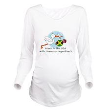 stork baby jam 2.psd Long Sleeve Maternity T-Shirt