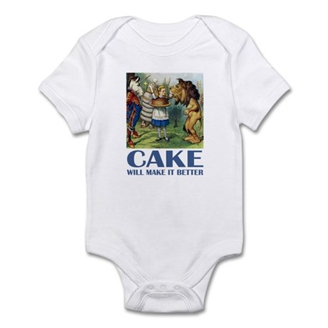 CAKE WILL MAKE IT BETTER Infant Bodysuit