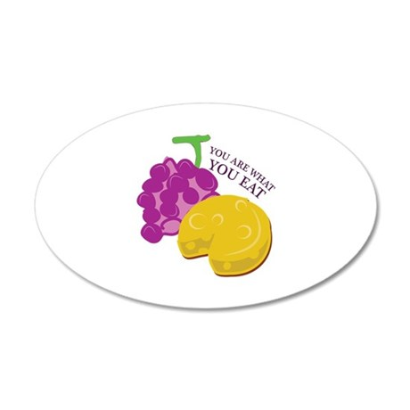 What You Eat Wall Decal