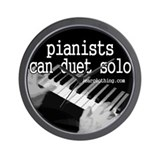 Pianists Solo Wall Clock
