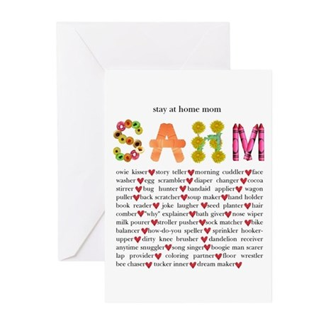 SAHM Greeting Cards (Pk of 10)