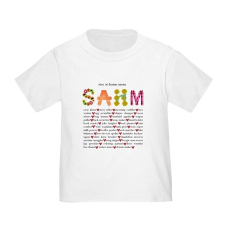 SAHM Toddler T-Shirt