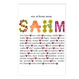SAHM Postcards (Package of 8)