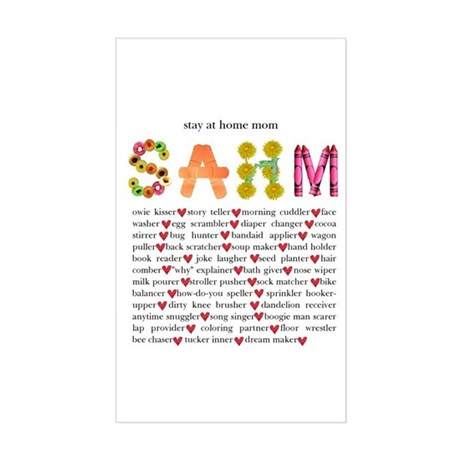 SAHM Rectangle Sticker