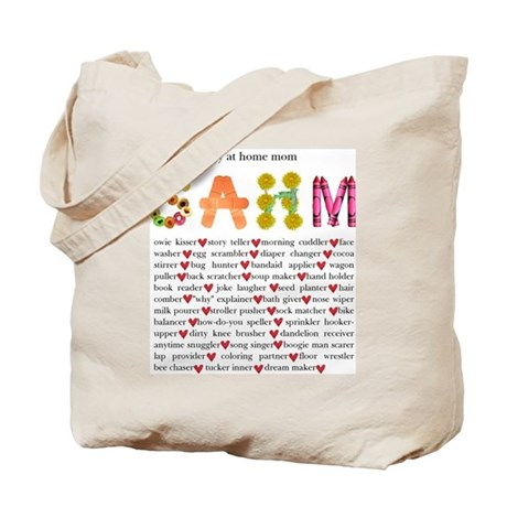 SAHM Tote Bag