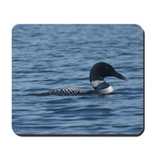 Loon on the Lake Mousepad