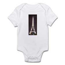 Sparkling Eiffel Tower at Nig Infant Bodysuit
