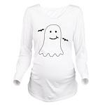 Halloween Ghost Spooky bats Long Sleeve Maternity