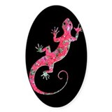 Pink Rose Gecko Decal
