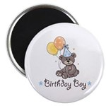 Birthday Boy Party Bear 2.25