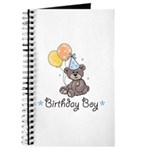 Birthday Boy Party Bear Journal