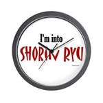 I'm Into Shorin Ryu Wall Clock