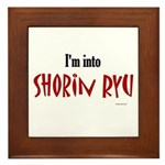 I'm Into Shorin Ryu Framed Tile