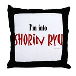 I'm Into Shorin Ryu Throw Pillow
