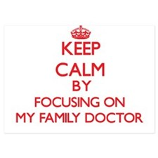 Keep Calm by focusing on My Family Doc Invitations