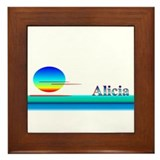 Alicia Framed Tile