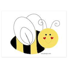 Cute Bee Invitations