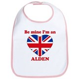 Alden, Valentine's Day Bib