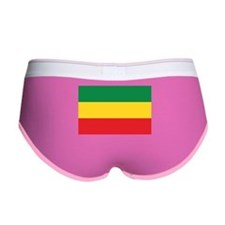 Green, Gold and Red Flag Women's Boy Brief