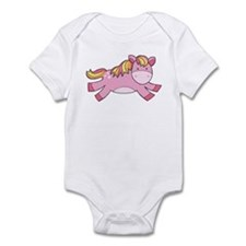 Pink Prancing Pony Body Suit