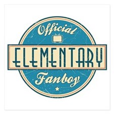 Offical Elementary Fanboy Invitations