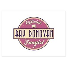 Offical Ray Donovan Fangirl 5x7 Flat Cards