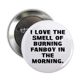 Burning Fanboy Button