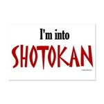 I'm Into Shotokan Mini Poster Print