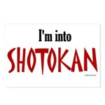 I'm Into Shotokan Postcards (Package of 8)